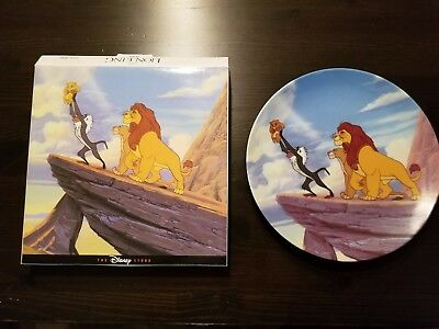 Disney Plate - Disney Store - Lion King - 1994 - Mint in Box - Iconic