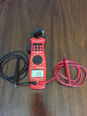 Snap On Model EEDM575D Clamp Meter Type K Good Condition