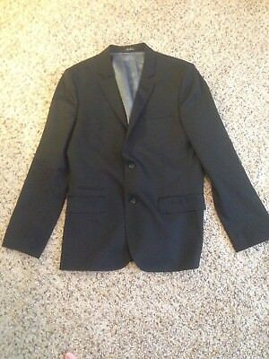 EXPRESS Men's Photographer Suit Jacket Slim Blazer 40R Black 40 Regular