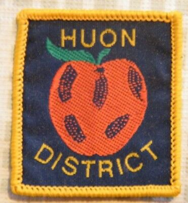 HUON DISTRICT SCOUT BADGE, Scouts Australia, Tasmania, MOST SOUTHERLY DISTRICT