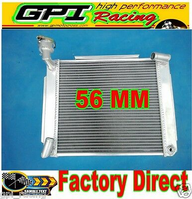 Custom Aluminum Radiator Mg Mga 1500,1600, 1622, De Luxe Mt 1955-1962