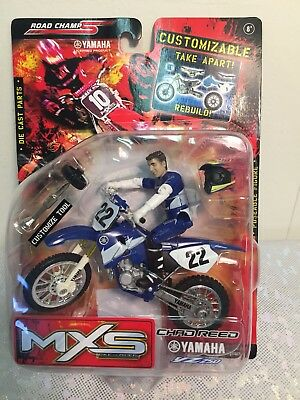 2006 Road Champs XS Bike & Rider Suzuki Chad Reed Customizable NIB