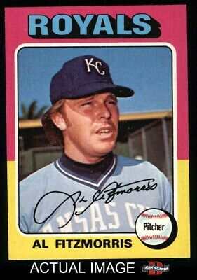 1975 Topps #24 Al Fitzmorris Royals NM