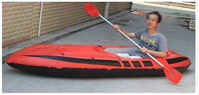 1 Person Red Water-proof Length 280CM Width 90CM Height 42CM Inflatable Boat *