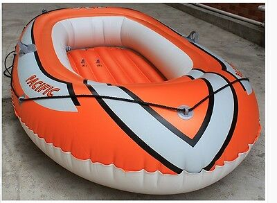 1-2 Person Orange Water-proof Length 220CM Width 110CM Inflatable Boat *