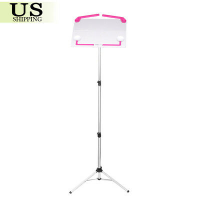 Adjustable Folding Sheet Music Metal Stand Holder Mount Tripod Carrying Bag