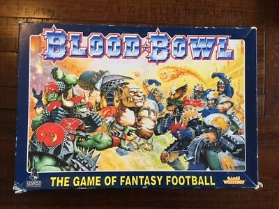 Blood Bowl and Death Zone board game (early editions)