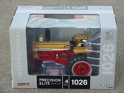 Ertl 1/16 Ih 1026 Chase Gold Demonstrator Elite #4 Precision Tractor Nib
