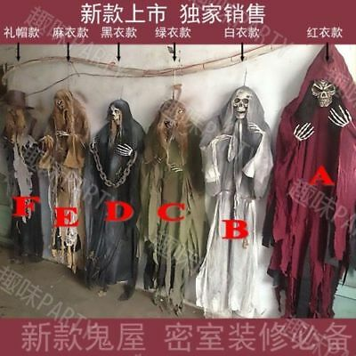 2018 Halloween Prop Hanging Ghost Witch Scary Haunted House Bar Party Decoration