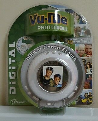 Senario Vu-Me Photo Ball GOLF Display 70 Digital Photos BRAND NEW IN PACKAGE