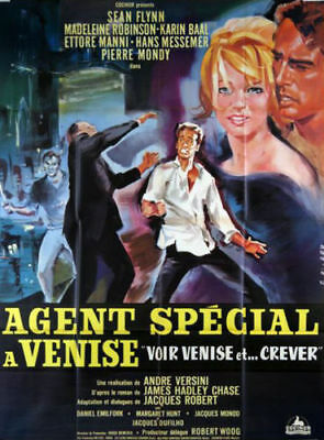 BANDE ANNONCE 16mm-1964-N/B-AGENT SPÉCIAL A VENISE-MAD ROBINSON