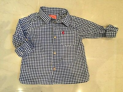 Joules Checked Shirt Age 18-24 Months. Perfect Condition
