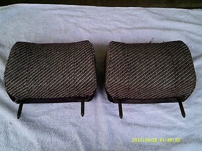 VH SS, HDT, GROUP THREE BROCK commodore rear seat headrests x 2 genuine