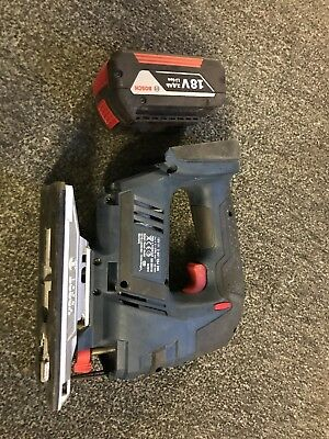 Bosch GST 18V LI N Professional 18V Cordless Jigsaw with 3Ah Battery