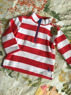 BNWT Joules Baby Boys Striped Jumper 3-6 Months RRP £16.95