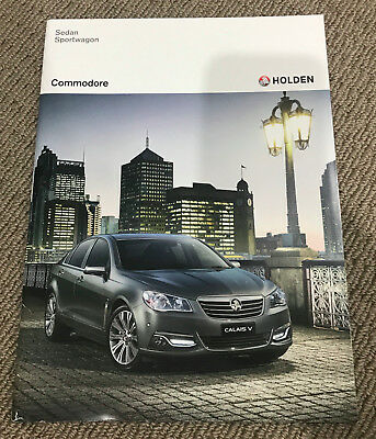 Holden VF Commodore 2015 Sales Brochure Kit include SS Calais & Storm