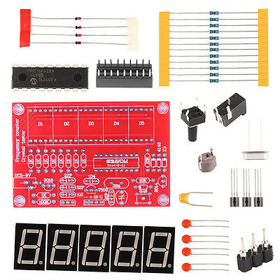 Digital LED 1Hz-50MHz Crystal Oscillator Frequency Counter Meter Tester Kits hot