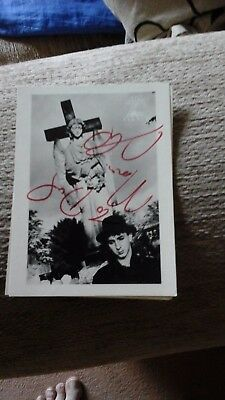 marc almond autograph on gutterheart post card rare personally hand signed