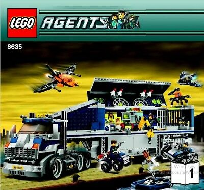 Lego Mobile Center. Only the instruction in pdf format. Without blocks.