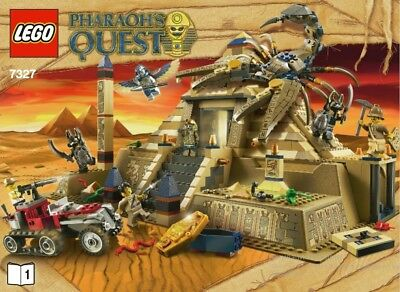 Lego Scorpion Pyramid. Only the instruction in pdf format. Without blocks.