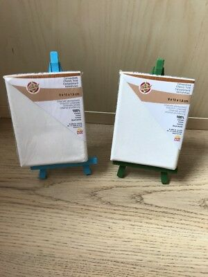 2 Mini Craft Canvas By Kars With 2 Easel