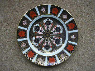 Royal Crown Derby old imari. imari plate 1128 eight and a half inch.