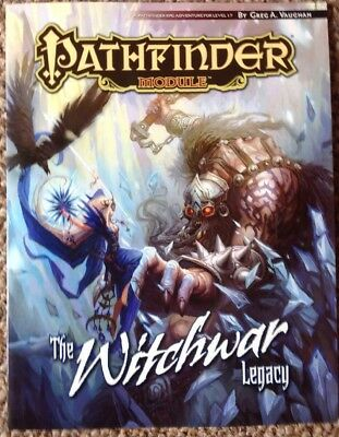 Pathfinder Module: The Witchwar Legacy by Paizo Staff 9781601252791