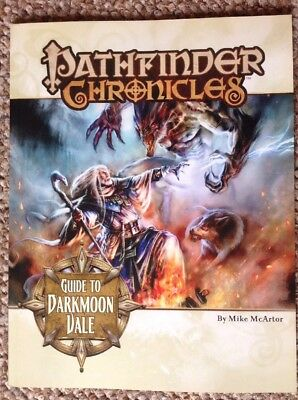 Pathfinder Chronicles- Guide To Dark moon Vale Paizo 3.5 OGL PZO1108