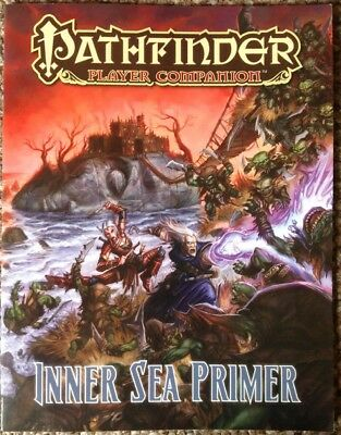 Pathfinder Player Companion: Inner Sea Primer Paizo 3.5 OGL PZO9414