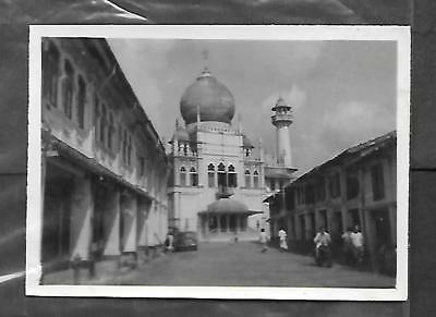 MALAYSIA/SINGAPORE PHOTO OF THE SULTANS MOSQUE, N.BRIDGE RD.8.5 x 6cm