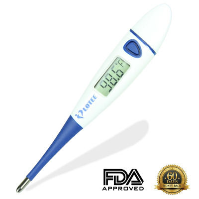 Lotee Basal Thermometer Fast Read Baby Thermometer, Fever Thermometer in 15 Seco