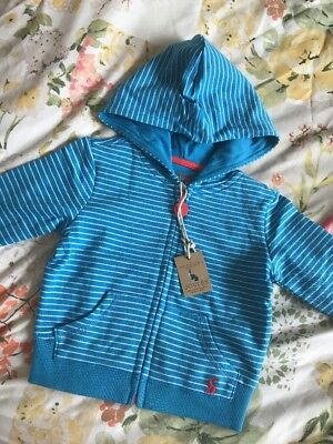 BNWT Joules Baby Boys Jumper 3-6 Months RRP £24.95 Blue Striped