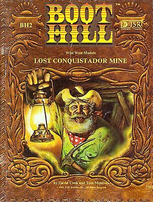 Boot Hill Role Playing Game : Lost Conquistador Mine BH2 (WildWest) TSR 7702