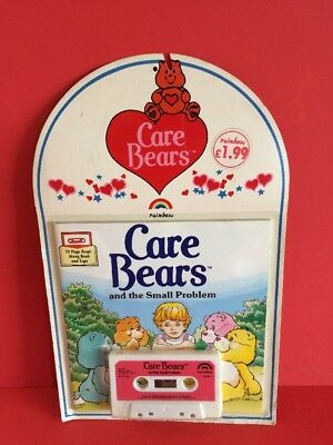Care Bears - 24 Page Read Along Book And Tape Sealed 1986 Rare