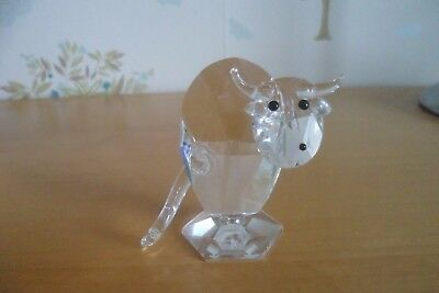 Balmoral Crystal Cow Ornament