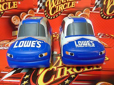 Jimmie Johnson - Set of 2 Rubber Car For Children (Roll by Itself) Sold Together