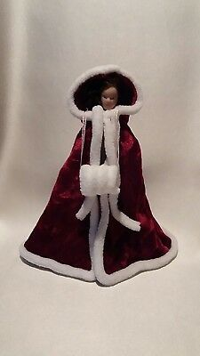 1:12/12th scale OOK Ladies Cloak- Handcrafted by Eva