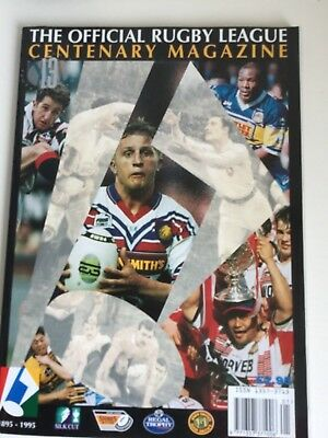 Official Rugby League Centenary Magazine
