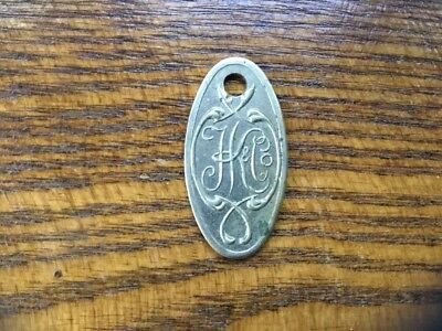 "Antique/ Vintage Hochschild Department Store Return ""Key"""