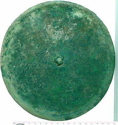 A4025, Ancient Bronze Mirror Extremely Large-Size 195 mm, China AD 1100-1600