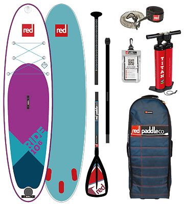 2018 Red Paddle Co Special Edition Ride 10'6 Inflatable SUP Alloy Package