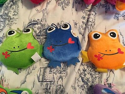 Soft Toys 3 Frogs