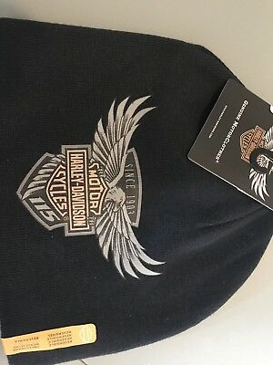 Limited Eition 115th Anniversary Harley Davidson Beanie Cold Weather Cap