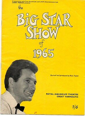 "LONNIE DONEGAN in ""THE BIG STAR SHOW of 1965 ""- GREAT YARMOUTH"