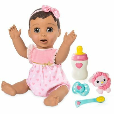 Luvabella Brunette Baby Girl Doll Spin Master FAST SHIP 100% AUTHENTIC BRAND NEW