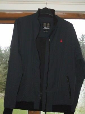 Musto Navy Mesh-Lined Jacket Size Xl