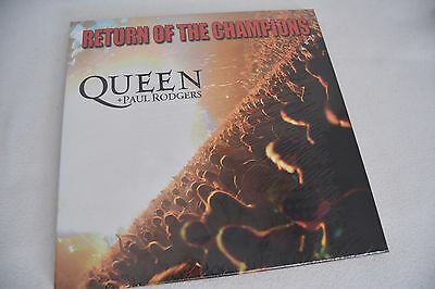 Queen + P. Rodgers / Return Of The Champions / Live / Factory Sealed / Neu
