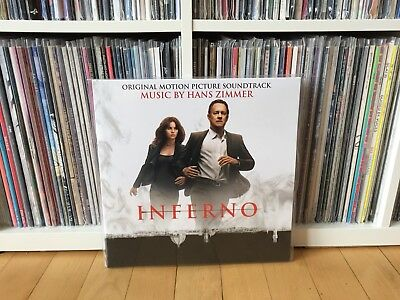 OST/VARIOUS - Inferno (Hans Zimmer) (LTD Red Viny LP