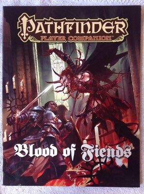 Blood of Fiends - Pathfinder Player Companion. Paperback Paizo 3.5 OGL 2012-0