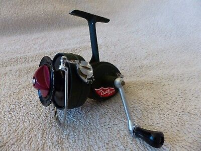 Quick DAM Junior spinning reel. Made in Germany.